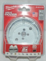 Milwaukee 49560193 Bi Metal Hole Saw Hole Dozer 3 One Half Inch - $19.99
