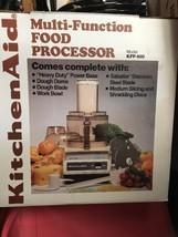 Kitchenaid Food Processor 11 Listings