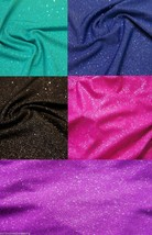 Glitter Knit Hair Scrunchie Scrunchies by Sherry Blue Pink Green Purple ... - $7.99