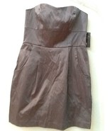 Forever 21 Silver Gray Strapless Bodycon Cocktail Club Dress Size S Small NWT - $9.95
