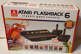 Atari Flashback 6 Classic Game AR2680 Console with Built-in 100 Games New - $22.00