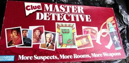Clue Master Detective Vintage Game PB thers 1988 -Complete - $29.00