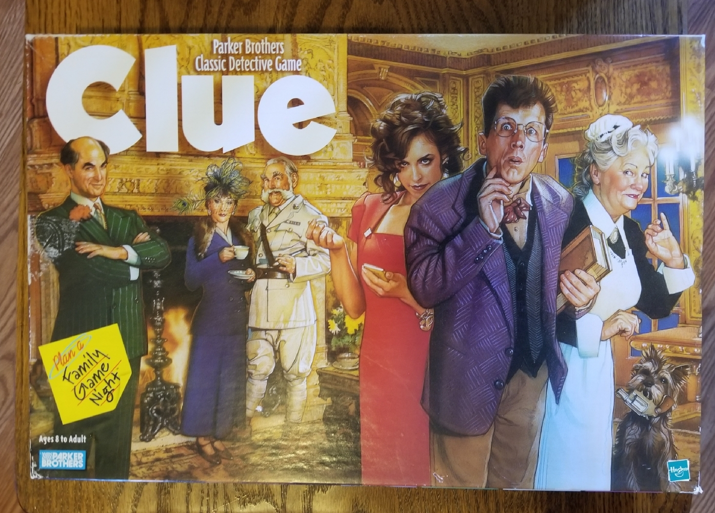 Primary image for CLUE CLASSIC DETECTIVE GAME PARKER BROTHERS 1998 COMPLETE EXCELLENT