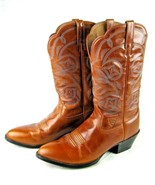 Ariat Mens Heritage R Toe Size 11 B Cowboy Boots Distressed Brown  - $94.05
