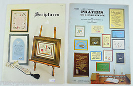Scriptures and Prayers Kids of all Ages Counted Cross Stitch Patterns 35... - $4.99