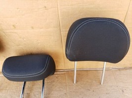 17-19 Kia Soul Rear Back Cloth 3 Headrests Headrest Set  image 2