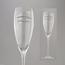 Mother of the Bride Forever Family Toasting Glass Insignia Brand in Gift Box