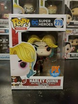 Funko Pop! DC Super Heroes Harley Quinn #279 PX Previews WITH PROTECTOR! - $17.58