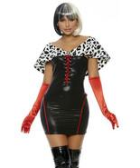 Forplay It's A Cruella Monde De Vil Sexy Adulte Femmes Halloween Costume... - $51.44