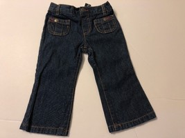 Infants Girls Fashion Jeans 18 months Blue Wash Baby Kids Pants Bottoms - $10.98