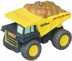 Tonka Dump Truck 2018 Hallmark Christmas Tree Ornament Yellow  New - $11.25