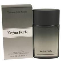 Zegna Forte Eau De Toilette Spray 1.7 Oz For Men  - $27.34