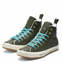 Womens Converse CTAS Hiker Boots Shearling Green/Rapid Teal 162478C Sizs... - $64.99