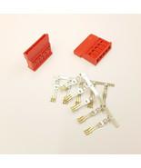 STRAIGHT SATA PC PSU POWER SUPPLY CONNECTOR - RED INC PINS - DIY - PK OF 20 - $15.86
