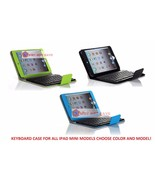 Wireless Bluetooth keyboard Leather Case with Stand for All Ipad Mini 1 ... - $39.99