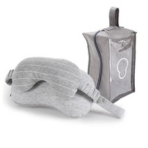 Multi Function Business Travel Neck Pillow  Eye Mask  Storage Bag with H... - $8.54+