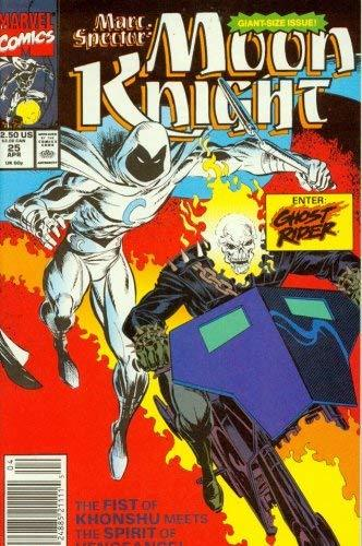 Marc Spector: Moon Knight #25 [Comic] [Jan 01, 1991] Marvel Comics