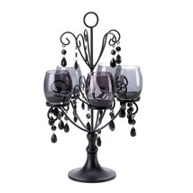 Candle Candelabra, 5-candle Candelabra - Midnight Black Holder For 5 Can... - $39.99