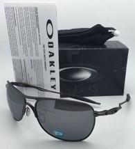 New OAKLEY Polarized Sunglasses Ti CROSSHAIR OO6014-02 Pewter with Black Iridium - $299.95