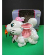 Woolworths Battery Operated Easter Bunny Rabbit Carrot Running Bunny wor... - $38.61