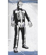 ADULT SKELETON COSTUME ONE SIZE FITS MOST - $20.00