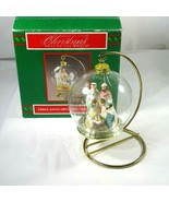 Vintage House of Lloyd Three Kings Nativity Christmas Ornament and Stand... - $19.79