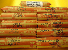 1964 Circs Penny Roll ( You Are Bidding This Listed Roll Only !) - $1.98
