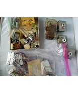 Vintage Electronics Motors Radio Components 1980's Era Huge Lot Rare Col... - $84.62
