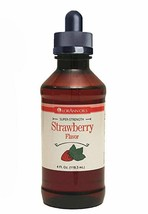 LorAnn Super Strength Strawberry Flavor 4 oz with Child Resistant Glass ... - $18.07