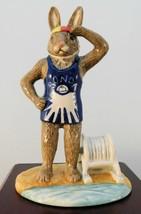"Royal Doulton Bunnykins Figurine - ""Surf Lifesaver"" DB457 - $66.49"