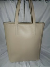 COLE HAAN GRAND OS N/S NORTH SOUTH LARGE TOTE HANDBAG PUMICE STONE LEATHER - $118.31
