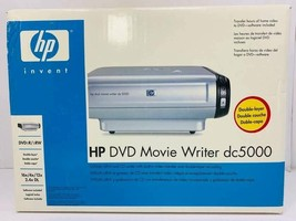 HP DVD Movie Writer dc5000 Double Layer DVD+R/+RW NEW IN BOX - $67.54