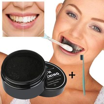 Organic Carbon Teeth Whitening Powder Natural Charcoal Activated Coconut... - $9.89