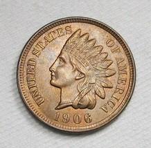 1906 Indian Head CH BU Near GEM Coin AB25 - $108.75