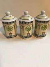 Royal Doulton Carmina(set of 3) Spice Jars - £38.82 GBP