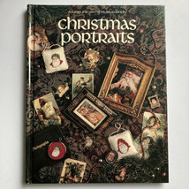 Christmas Portraits By Leisure Arts Hardcover Book - $13.85