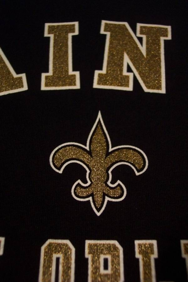 NEW ORLEANS SAINTS NFL FOOTBALL Long Sleeve T-Shirt LARGE NEW