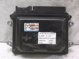 12-13..MAZDA 3 2.0L Auto 6 Speed Engine Control MODULE/COMPUTER.ECU.ECM.PCM - $168.30