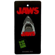 Rock Rebel Jaws Affiche Émail Broche Brillant En The Foncé Shark Semaine - $12.95