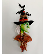 """""""Head Witch"""" Cloth Folk Art PDF Digital E-Pattern By Susan Barmore - $12.00"""