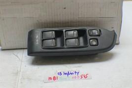2003-2004 Infiniti G35 Sedan Driver Master Power Window Switch 545 10B1-Bx2 - $31.67