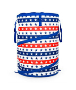 Camco - 51993 - Pop-Up Container - Blue and Red w / Stars - $28.66