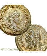 Philip II Silber Tetradrachme XF Adler Groß Alte Römische Reich Münze An... - $265.49