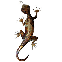 Eangee Home Indoor Outdoor Decorative Gecko Brown (m713111) Wall Decoration - €33,83 EUR