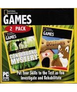 National Geographic Explorer: Contraband Mystery and Dogtown (PC, 2 games) - $10.95