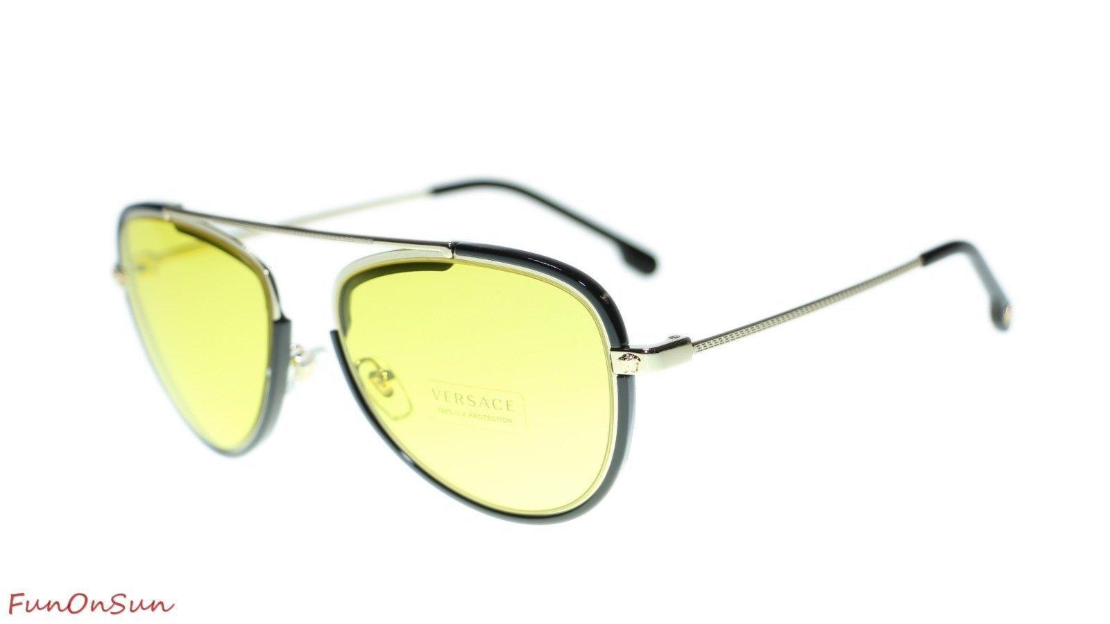 0e21fc744ef Versace Men Pilot Sunglasses VE2193 125285 and 23 similar items. 10
