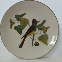 "Gorham American Preservation Guild - Crested Fly Catcher Plate 10.5"" 146/9900 - $9.90"