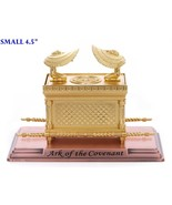 Gold Plated Ark of the Covenant on a Copper Base - $25.99