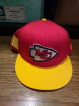 New Era 59FIFTY Kansas City Chiefs yellow flat bill snap back new  - $27.79