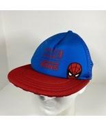 Vans x Marvel SPIDERMAN Trucker Hat Spidey Checkers Snapback Cap SPIDER MAN - $39.55